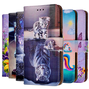 For Doogee X90 Case Flower Leather Fundas Flip Case For Doogee X90 X90L Back Cover Coque Print Stand Book Case Coque image