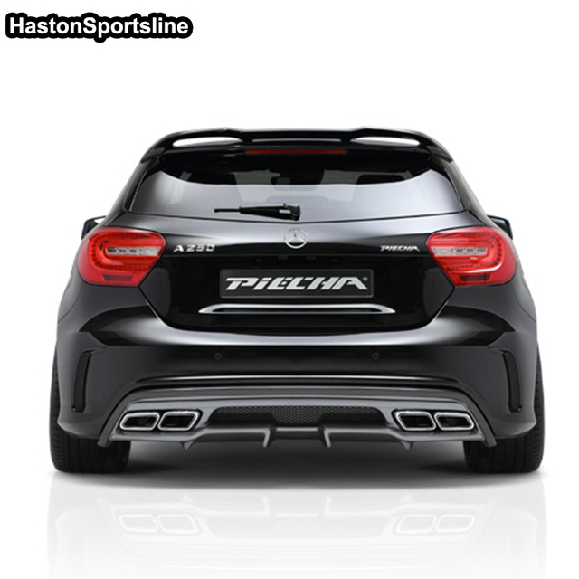 For Mercedes A Class A45 AMG W176 FRP Rear Roof Spoiler A180 A200 A220 A250 A260 rear roof Wing 2013 2017