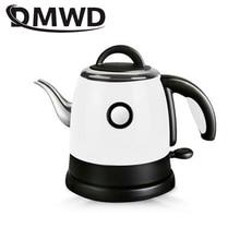 긴 주둥이 입 스테인레스 스틸 난방 온수 보일러 전기 주전자 자동 전원 끄기 끓는 히터 물방울 커피 차 주전자 0.8L