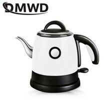Długa wylewka usta grzejna ze stali nierdzewnej bojler wodny czajnik elektryczny automatyczne wyłączanie wrzącej grzałki kroplówki kawy dzbanek na herbatę 0.8L
