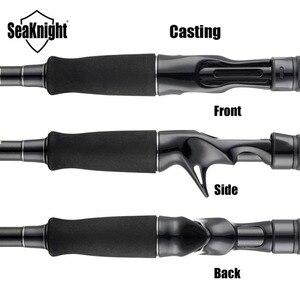 Image 4 - SeaKnight סנגה II חכת דיג M MH 2.1m 2.4m פחמן טלסקופי ליהוק ספינינג מוט 7 25g 8 18LB דיג מוטות