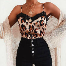 Women Lace Vest Sleeveless Loose Camisole Casual V-Neck Tank Tops T-Shirt
