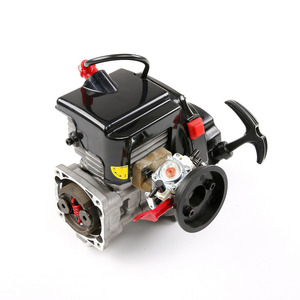 Image 5 - 45cc Single Cylinder Two Stroke 4.35 Hp Four Point Fixed Easily Starting Engine Ffor 1/5 Rovan HPI KM BAJA RC Car