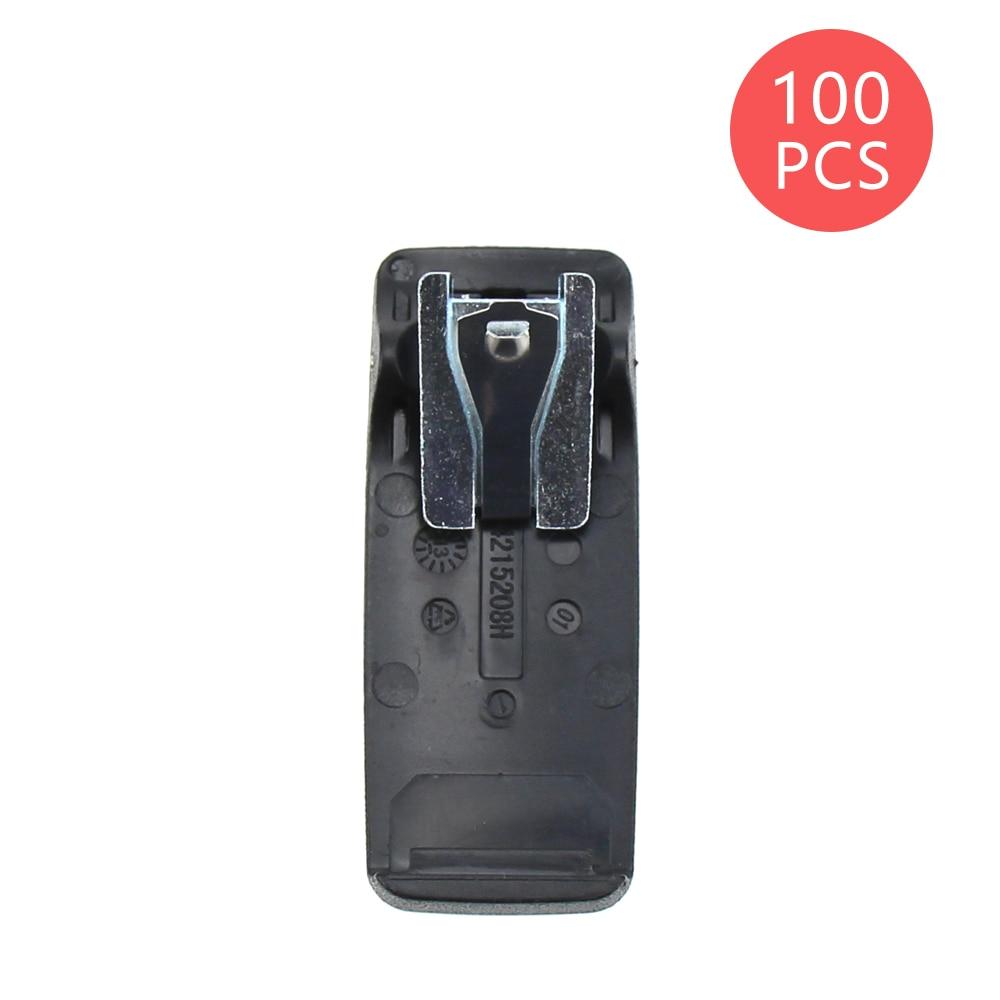 100X Belt Clip For Motorola PMNN4065 PMNN4066 PMNN4066A DP3400 DP3600 DGP4150 XPR6300 XiRP8268