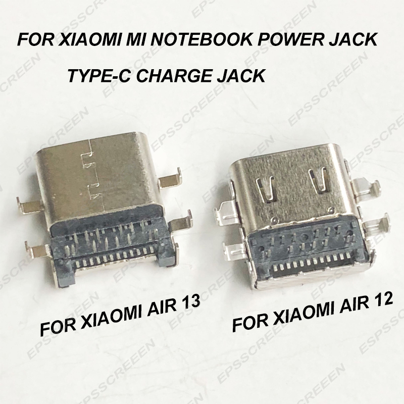 For Xiaomi Notebook Mi Air 13/12 161301-01 161201-01 15.6 Pro Power Jack DC-JACK Charging Interface Port Type-c Seat Connector