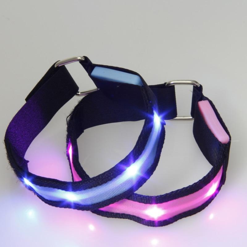 LED Armband Running Armband Flashing Safety Light Band For Running Cycling Jogging Night Walking HSJ88