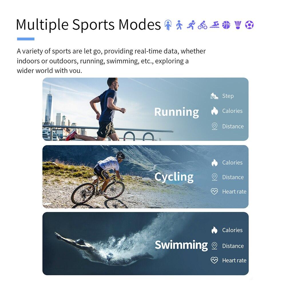 Monitor de Freqüência Pulseiras de Fitness Rastreador para Xiaomi Meeker Banda Inteligente Pulseira Cardíaca Huawei Honor Ios