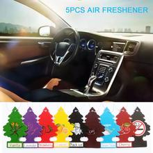 5Pcs Car Air Freshener Hanging Paper Tree Cardboard Royal Pine Scent For Home
