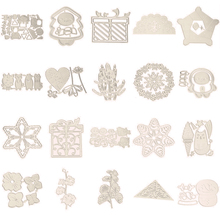 Snowflake Snowman Christmas Gift 3D Flower Animal Metal Cutting Dies for Scrapbooking DIY Paper Card Making Decoration New 2019