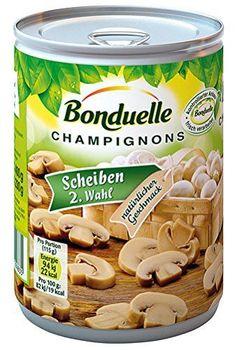 Bonduelle tranches de champignons 2e choix - 400g