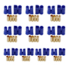 10 Pairs EC5 Battery Connector Plugs EC5 Male Female 5mm Bullet Banana Gold Plug for RC ESC LIPO Battery 30%off