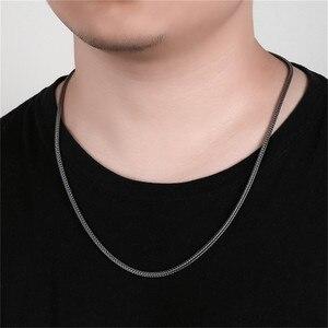 Image 5 - BALMORA collares de cadenas Retro Para hombre y mujer, Plata de Ley 925 auténtica, joyería de cadenas de serpiente sencilla, 2,5mm, 18 32 pulgadas