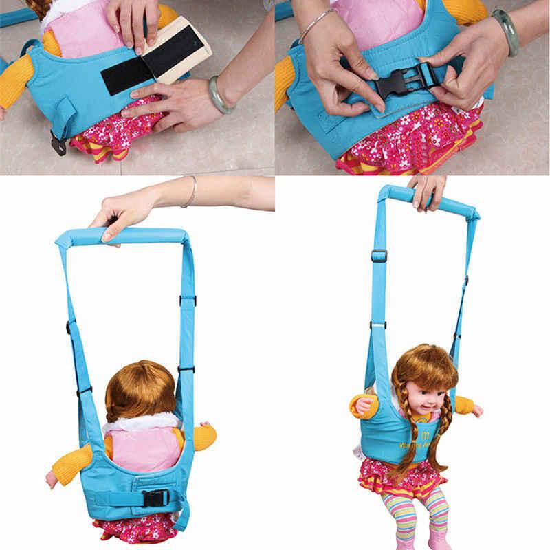 Chodzik dla dzieci Protable uprząż dla niemowląt asystent maluch smycz dla dzieci nauka szkolenia dziecięcy pas do nauki chodzenia dla dziecka