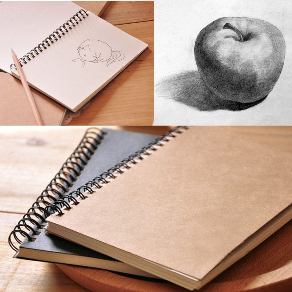 100 Sheets 12X18cm Sketchbook Diary Drawing Painting Graffiti Small Soft Cover Blank Paper Notebook Memo School Office Supplies