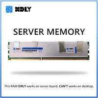 Memoria RAM con disipador de calor, DDR3, 4GB, 8GB, 16GB, 32GB, 1333MHz, 1600Mhz, 1066Mhz, REG, ECC, memoria de servidor HDLY, 2011 CPU, placa base X58, X79, Dimm