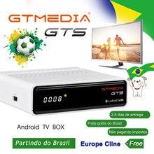 M3U GTmedia GTS Android Satellite Receiver Frete De Brasil DVB-S2 tv bo