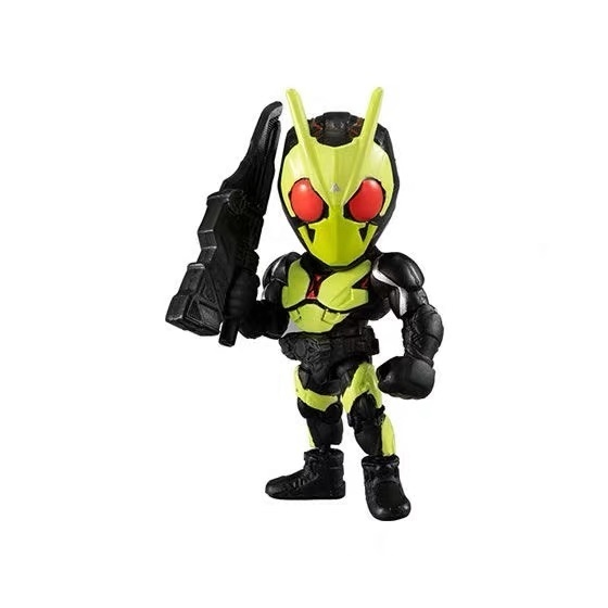 Image 4 - Original Bandai Kamen Rider Anthem no.3 Zi O Zero One Gashapon figure setAction & Toy Figures   -
