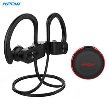 Mpow Bluetooth 4.1 Headphones Noise Cancelling Earphone HiFi Stereo Wireless Flame IPX7 Waterproof Sports Earbuds with Mic Case