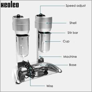"Image 3 - Xeoleo מילקשייק מכונה כפול כוסות חלב רועד מכונה Milkshaker 20000 סל""ד מילקשייק ערבוב משקאות מיקסר"