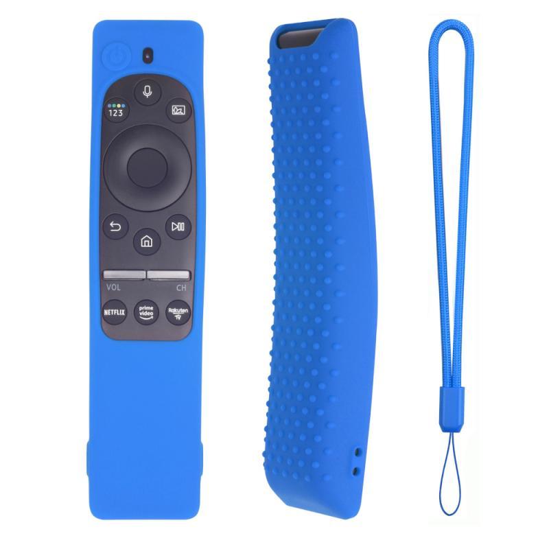 Для BN59-01312A 01312H BN59 01241A 01242A силиконовая крышка для Samsung Smart TV голосового дистанционного управления чехол SIKAI противоударный чехол