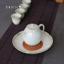 Pinny винтажный чайный горшок из пигментированного керамического