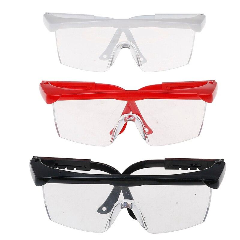 1PCS Big Frame Manicure Tool Anti UV Glasses For UV Gel Nail Art Black/White/ Red