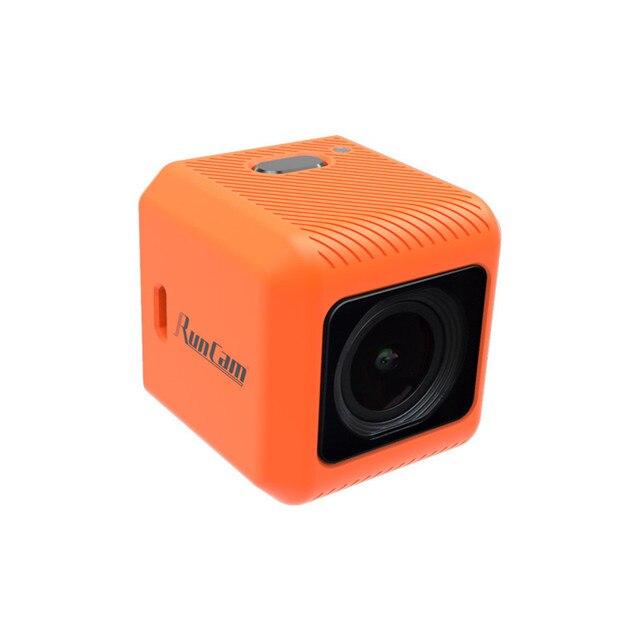 RunCam 5 Orange 12MP 4:3 145 Degree FOV 56g Ultra light 4K HD FPV Camera for RC FPV Racing Drone Toothpick