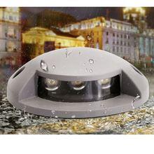 3 Вт Водонепроницаемый светодиодный светильник Открытый подземный