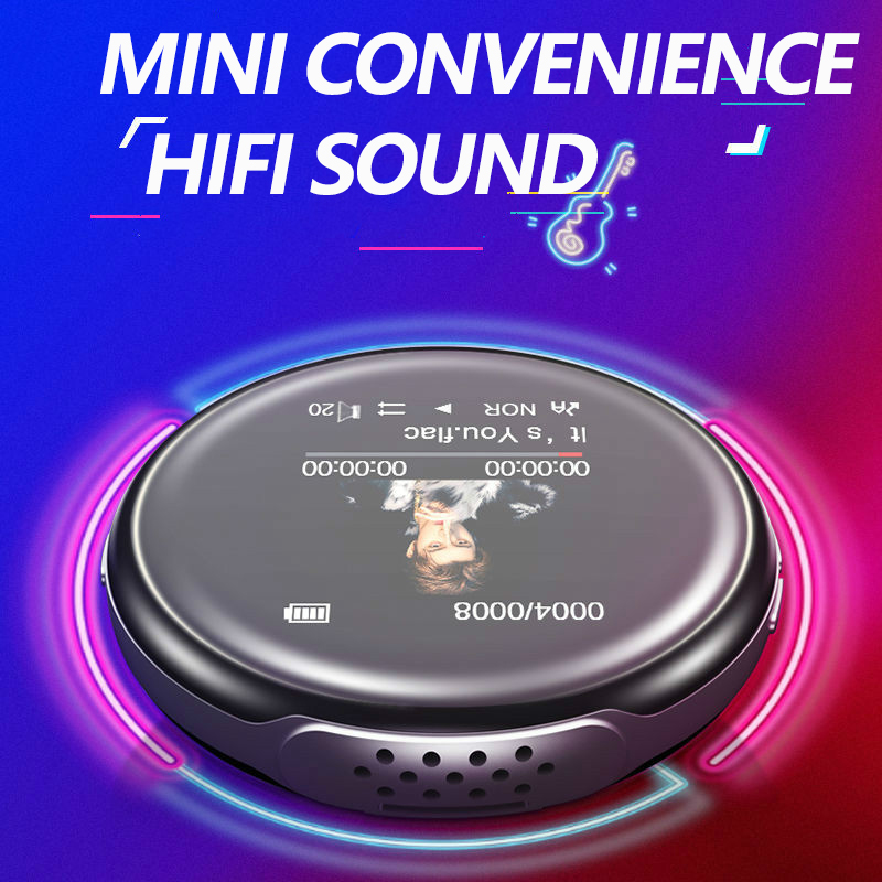 Discount─Mp3-Player Bluetooth Earphones Speaker-Support Recording Hifi Video-E-Book Fm-Radio Mini