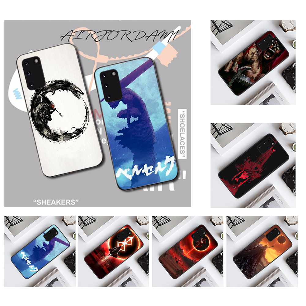 NBDRUICAI Anime Berserk Art Coque Shell โทรศัพท์สำหรับ Samsung S20 PLUS Ultra S6 S7 EDGE S8 S9 PLUS S10 5G