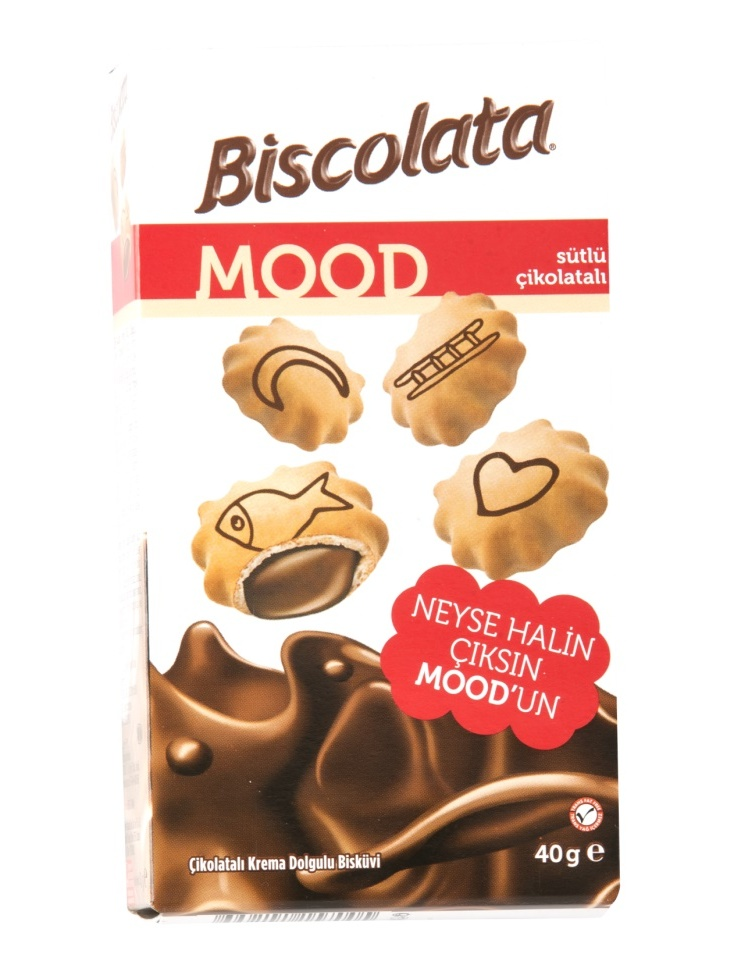 ŞÖLEN BISCOLATA MOOD 40 GR (12 PCS) NEW TASTE HALAL FROM
