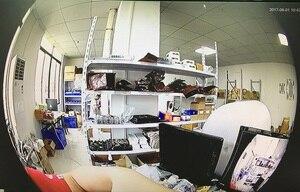 Image 4 - Panorama ojo de pez XM330 + 2235E AHD/TVI/CVI/CVBS cámara domo 1080N 960H 1920*1080 3 matriz LED infrarrojos IRC CCTV seguridad