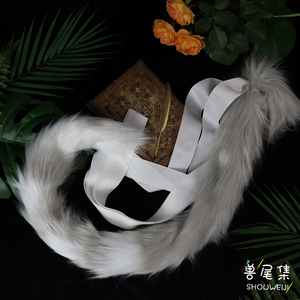 Image 3 - MMGG New handwork Matched Ear Cat Tail Cosplay Lolita style costume accessories Custom Made Only Tail