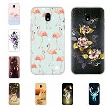 For Samsung Galaxy J3 2016 J3 2017 Case Thin Soft TPU Silicone Cartoon Patterned For Samsung Galaxy J5 2016 J5 2017 Cover Bumper цена и фото