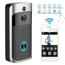 Wireless WiFi Doorbell Video Door Intercom Smart Home IP Door Bell Camera Securi