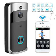 Wireless WiFi Doorbell Video Door Intercom Smart Home IP Door Bell Camera Security Alarm IR Night Vision Visual Ring Intercom