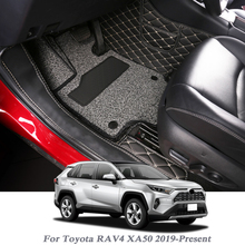 Car-Floor-Mat Cover Carpet Internal-Accessories Automobile Toyota Rav4 for Auto-Foot-Pad