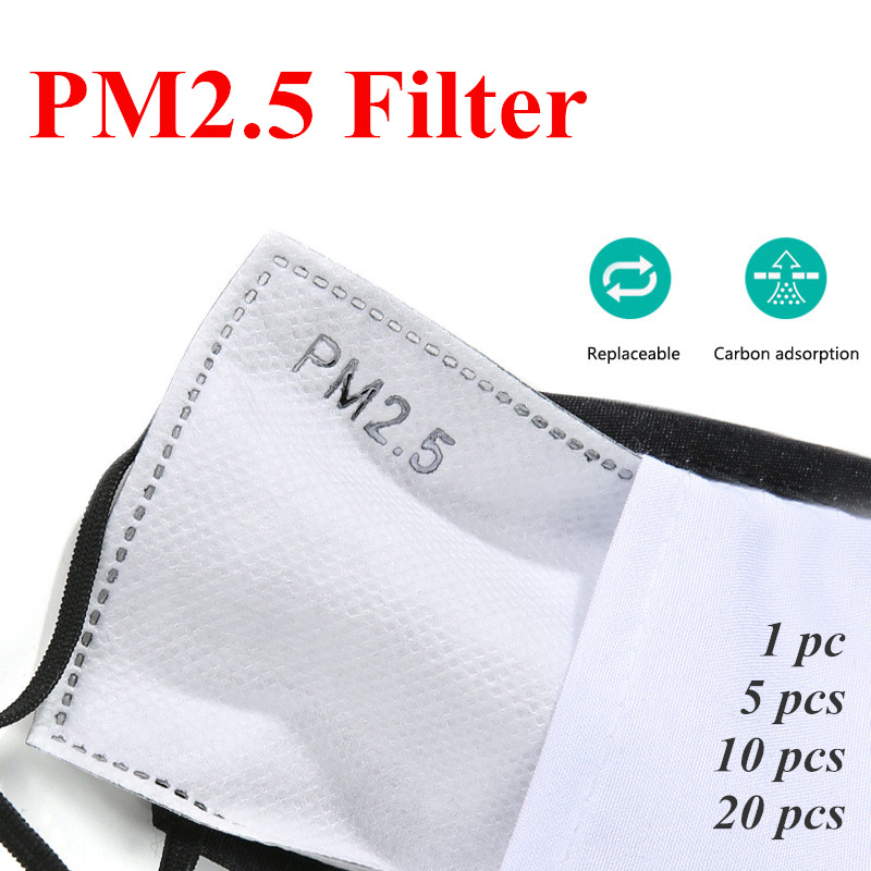 PM2.5 Filter Paper Anti Haze Mouth Mask Anti Dust Mask Filter Paper Health Care