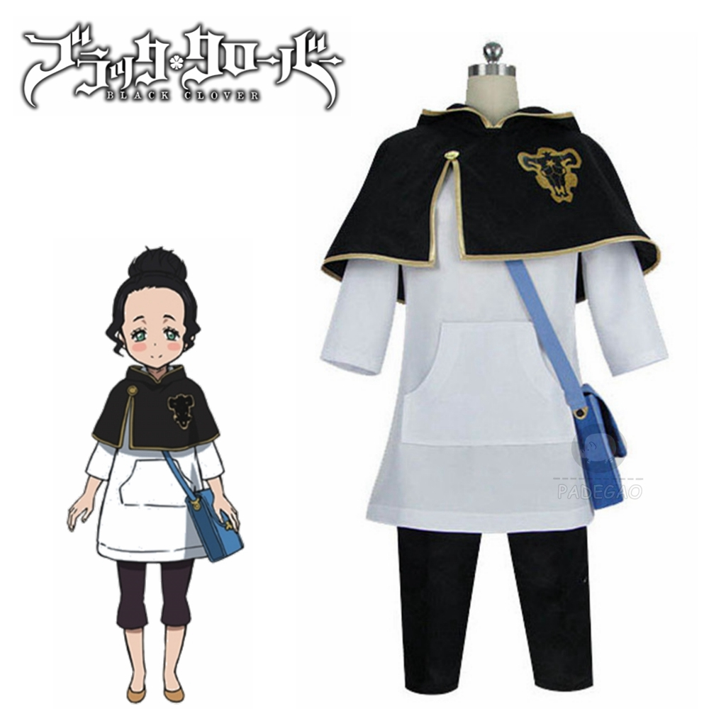 Anime Black Clover Charmy Pappitson Cosplay Costume Custom Made For Halloween Christmas