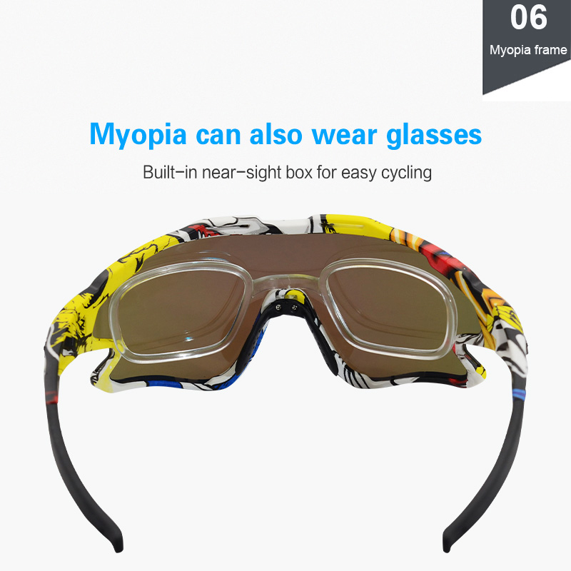 Cycling Sunglasses Professional Polarized Cycling Glasses MTB Road Bike Sport Sunglasses Bike Eyewear UV400 Bicycle Goggles 5