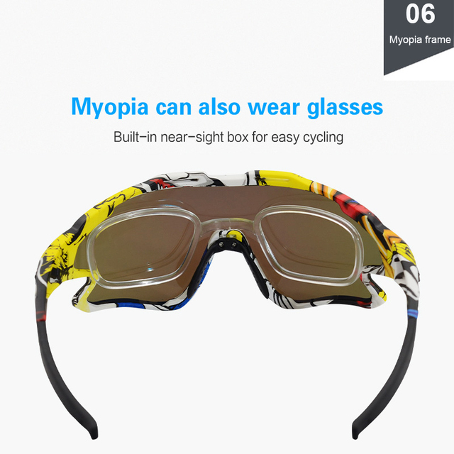Cycling Sunglasses Professional Polarized Cycling Glasses MTB Road Bike Sport Sunglasses Bike Eyewear UV400 Bicycle Goggles 4