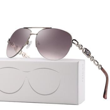 FENCHI Womens Pilot Sunglasses