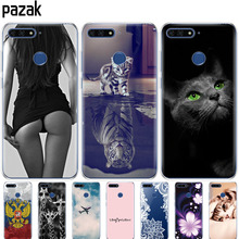 """Silicone phone Case For Huawei Honor 7A pro 5.7"""" inch C"""