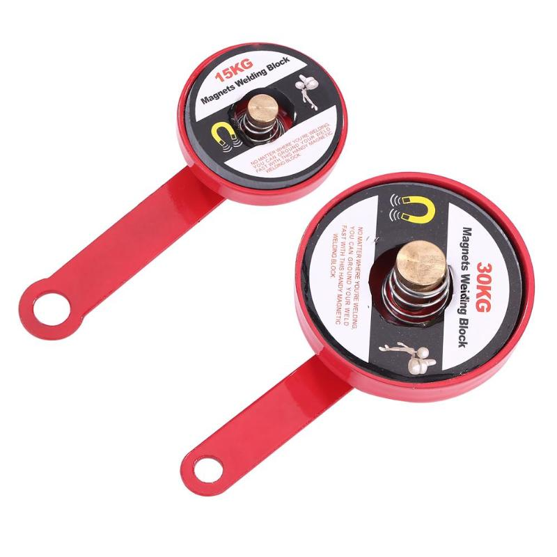 Welding Ground Magnet Copper Rod Contacts Iron Directly Easy To Use Mini Magnetic Holder Soldering Locator Welding Accessories