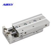 SMC Slide guide cylinder MXS Pneumatic cylinder MXS12 10 MXS12 10A MXS12 10/20/30/40/50/75/100