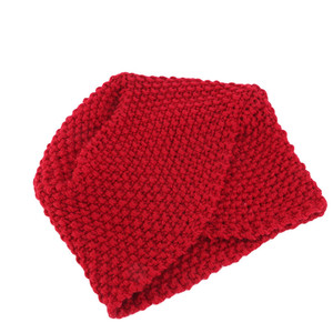 Image 4 - Мусульманская женская зимняя шапка, теплая шерстяная вязаная шапка, облегающая шапка для сна, головной убор для пациентов с раком