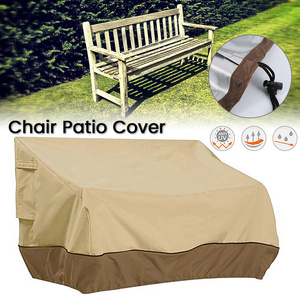 Patio Furniture Cover Outdoor Yard Garden Chair Sofa Waterproof Dust Cover Sun Protection Oxford Cloth Foldable Drawstring Table(China)