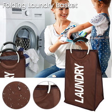 Foldable Oxford Washing Clothes Laundry Basket Household Multifunctional Storage Bag Collapsible Clothes Toy Holder Organizer