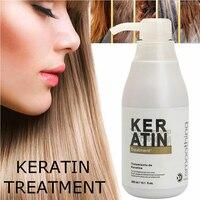 Brazilian Keratin Hair Treatment 300ML Formalin 5% Straightener And Treatment For Damaged Hair Hair Care Hair Treatment
