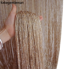 Beaded String Curtain Door Curtain Beads Thread Curtains Window Wall Panel Room Divider Doorway Home Living Room Wedding Decor cheap Kekegentleman Perspective Tube Curtain Left and Right Biparting Open 100 Polyester Rope Excluded Office hotel Cafe TD106